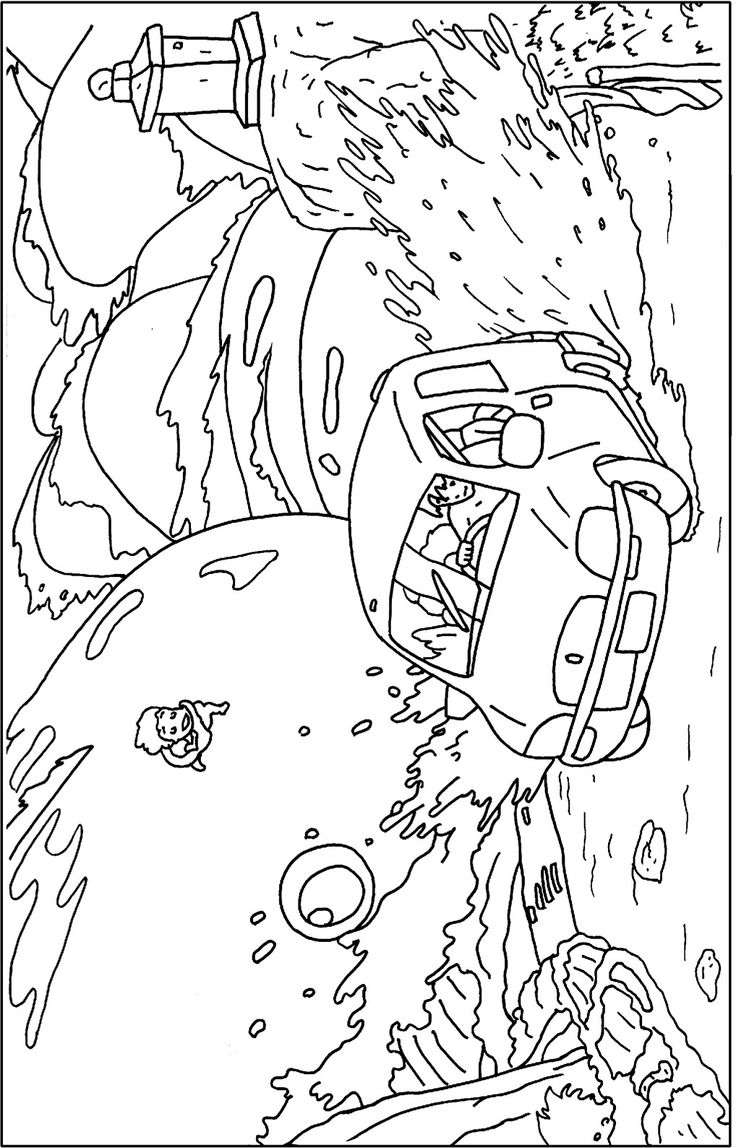 53 studio ghibli pinterest for Ponyo coloring pages to print