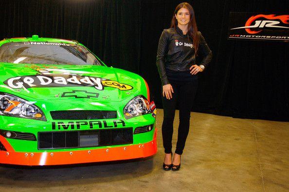 Danica Patrick Photos: Danica Patrick at JR Motorsports