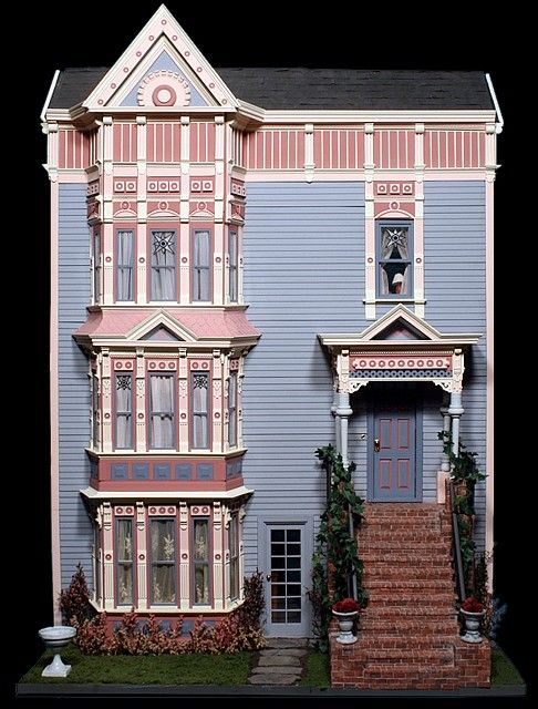 17 best images about dollhouse on pinterest miniature for Victorian kit homes