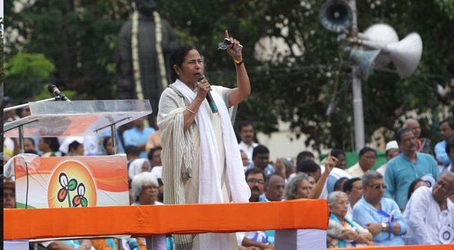 "Kolkata: The BJP on Friday ridiculed West Bengal Chief Minister Mamata Banerjee's call to ""oust"" the party from the country. The party also claimed that her Trinamool Congress had been ""reduced to a signboard"" in Tripura, where it tried to expand its..."