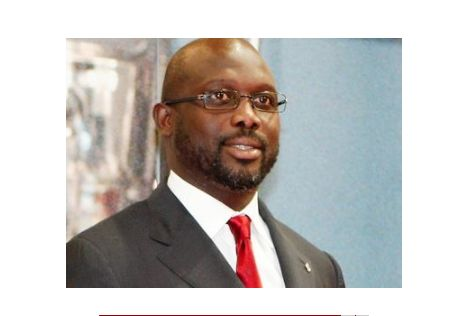 For the second time, Ex- Footballer, George Weah will contest to become Liberia's president in October