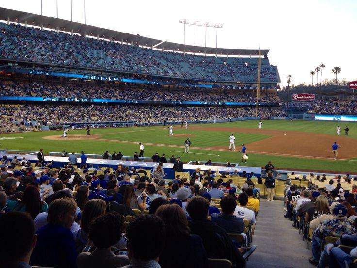 Dodger Game 2014