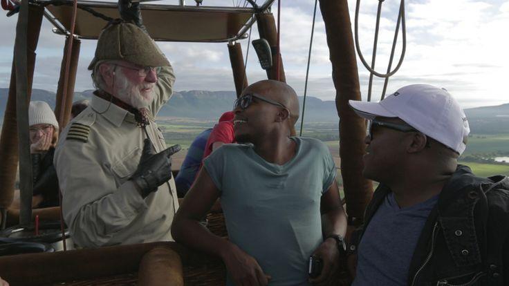 Mercedes-Benz #GLAadventure Pilanesberg weekend - balloon safari