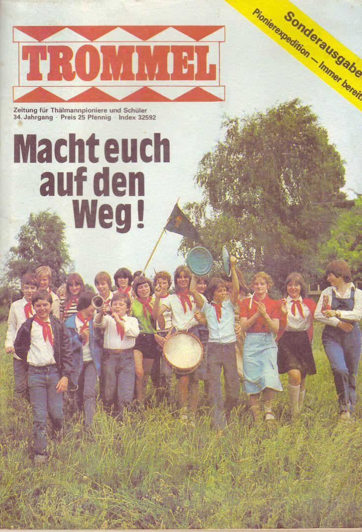 Zeitung für Thälmannpioniere und Schüler Trommel - Sonderausgabe---34.Jahrgang