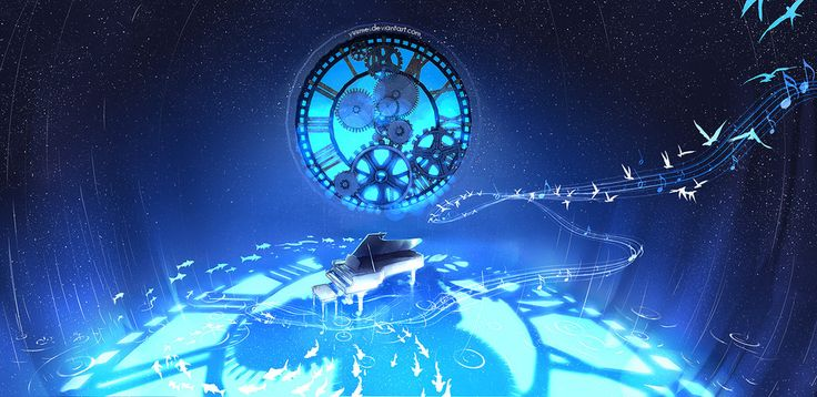 Between Time and Space by yuumei.deviantart.com on @DeviantArt