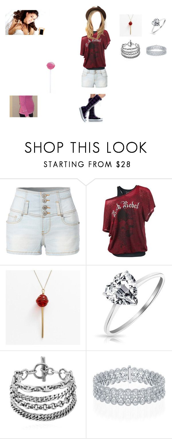 """Selena Alexandra Andrews"" by tayloranna-stone ❤ liked on Polyvore featuring LE3NO, Simone I. Smith, Bling Jewelry and riverdale"
