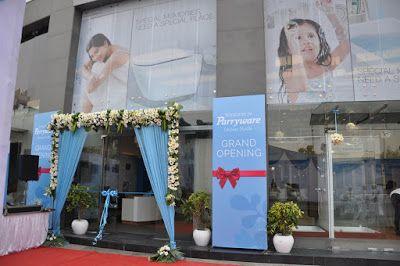 Parryware Display Studio by Roca Bathrooms Inaugurated by Pau Abello #Parryware #ParrywareDisplayStudio #RocaBathrooms #PauAbello