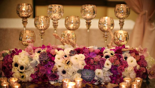 Mercury glassMercury Glasses, Wedding Trends, Wedding Aisle, Blushes Receptions, Gorgeous Flower, Sweetheart Tables, Wedding Flower, Blushes Botanical, Pretty Flower