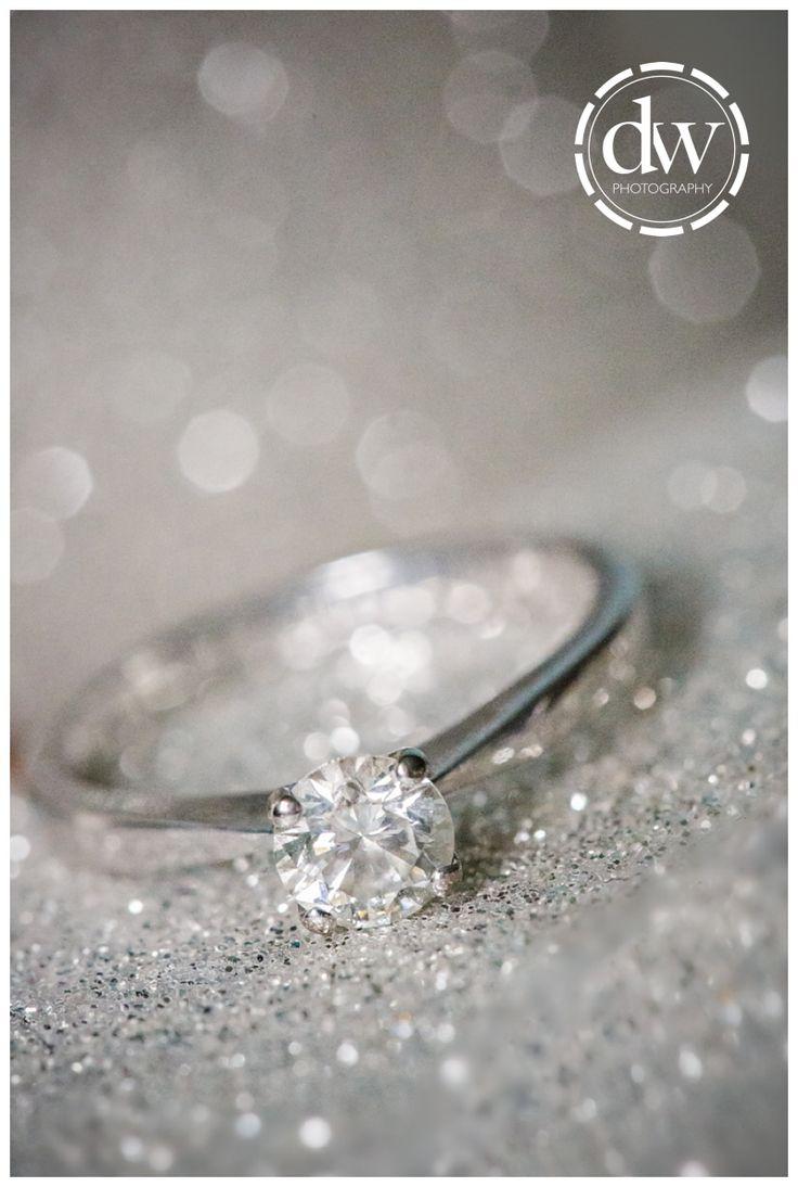 Brides engagement ring
