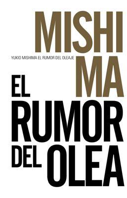 El rumor del oleaje, de Mishima Yukio. Alianza Editorial.
