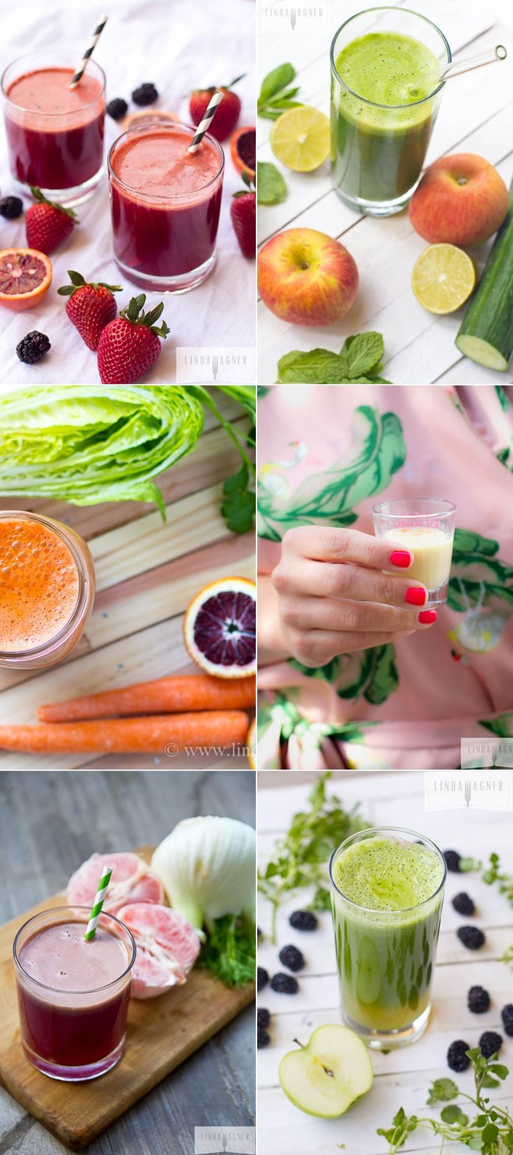 8 Juice Recipes For Every Ailment - great info here!