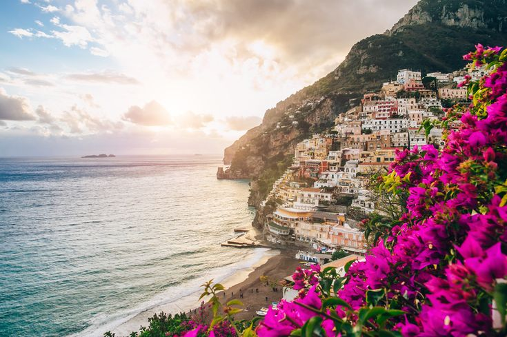 Fototapet 3D Coasta Amalfi Italia