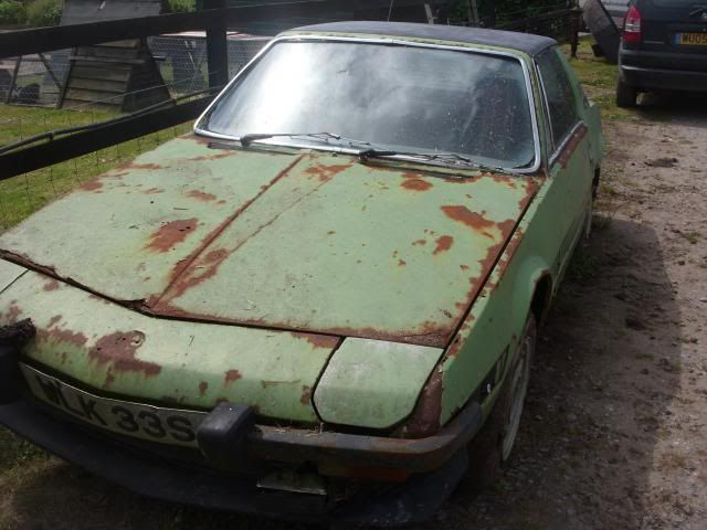 Barn Find 1977 Fiat X19 Convertible