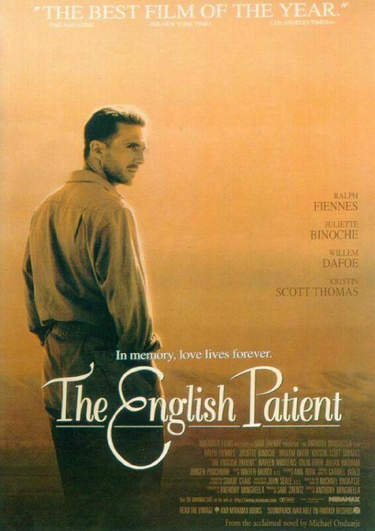 Hafta sonu, sabahın köründe kalkıp teste başlamadan önce izlediğim filmdi : İngiliz Hasta.( Bu arada o test yarım kaldı, tarafımca acilen çözülmeyi bekliyor bu akşam :) Filmin romandan uyarlama old…