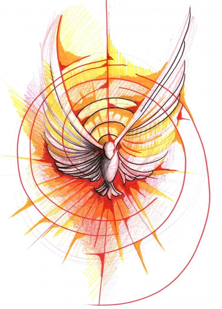 Assez Oltre 25 fantastiche idee su Spirito santo su Pinterest | Cattolico EX65