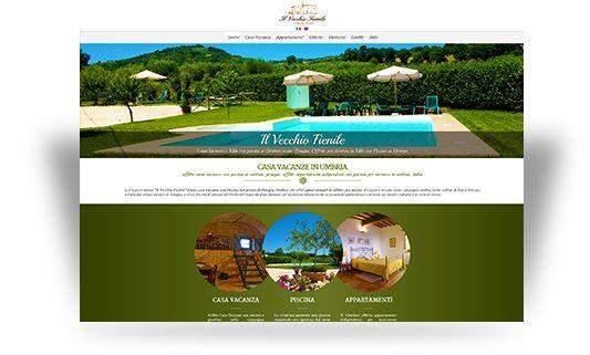 Sito web per casa vacanza in umbria, affitto appartamenti con piscina in umbria. http://www.vecchiofienile.com/