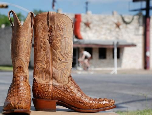 Can't go wrong with the Tony Lama cowboy boots.