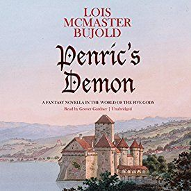 """Another must-listen from my #AudibleApp: """"Penric's Demon: A Fantasy Novella in the World of the Five Gods"""" by Lois McMaster Bujold, narrated by Grover Gardner."""
