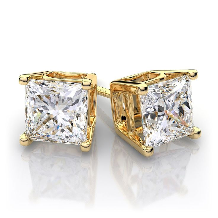 Gold Diamond Earrings For Men