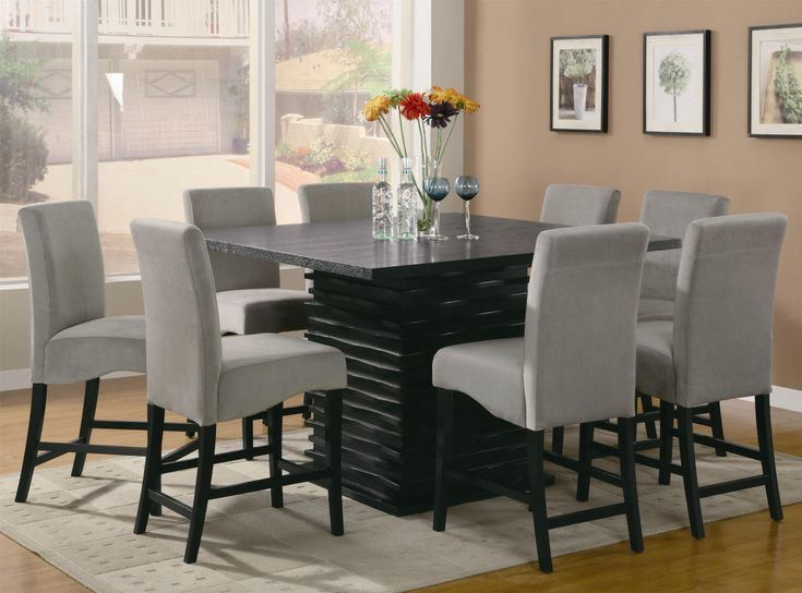 2018 tall dining room table and chairs modern style furniture check more at http - Tall Dining Table