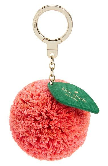 kate spade new york orange bag charm available at #Nordstrom