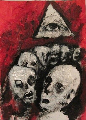 "THE OVERSEER"" outsider art,"