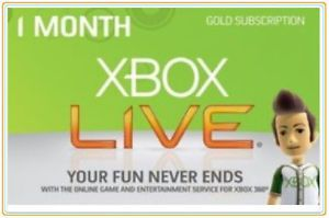 Xbox360 1 Month Live Gold Membership Worldwide Code - Instant Dispatch