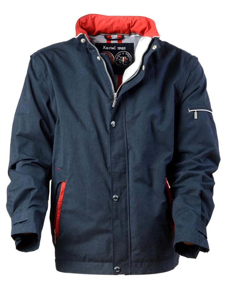 Mens 100% Dull Nylon Casual Jacket