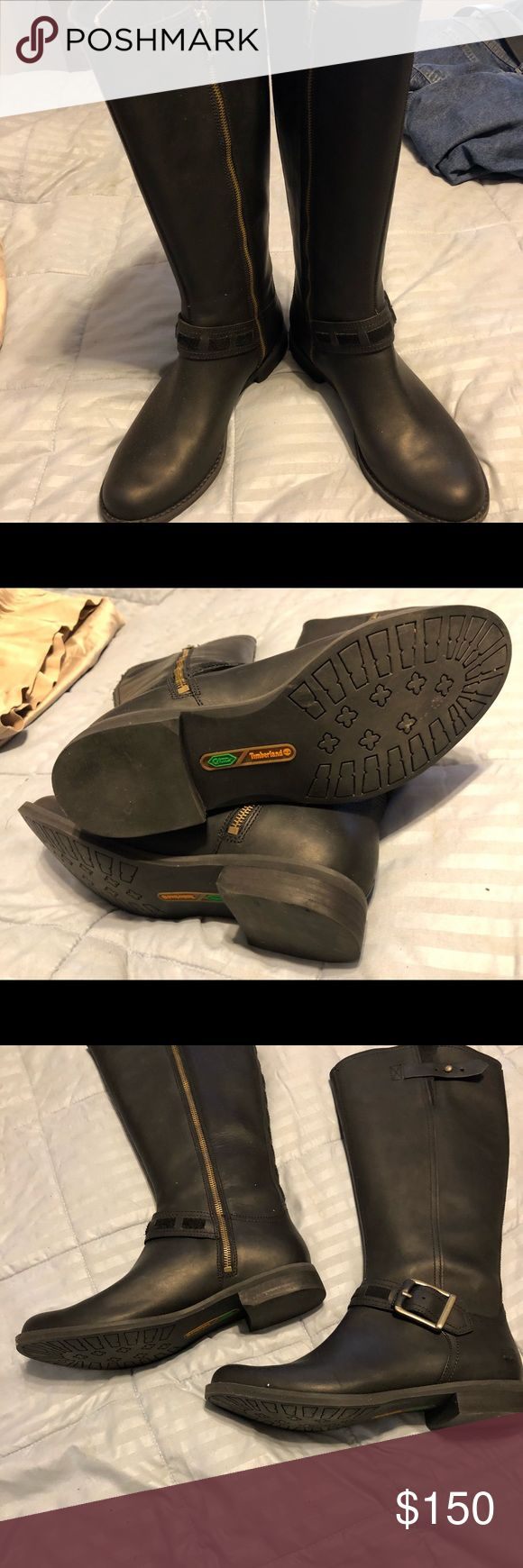 Ladies Timberland Boots Worn 1 time Timberland Shoes