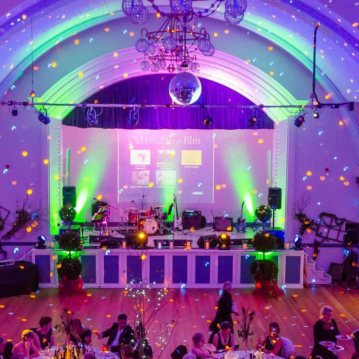 Hitchin Town Hall, Masquerade Ball setting 2017