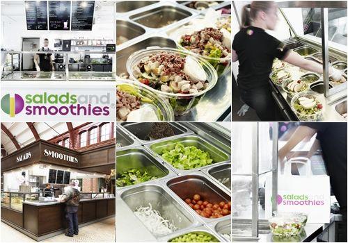 The future of fast food har kommit till Franchise Finder!  Salads and Smoothies enkla men geniala affärsidé är att göra snabb mat som gör nytta! Deras restauranger levererar hälsosam och fräsch fast food med kvalitét och det är riktigt prisvärt! Så nu kan alltså DU vara med och bygga den hälsosamma framtiden med Salads and Smoothies! Bli franchisetagare och gör hälsosam nytta du med!