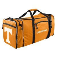 "Brand New NCAA Tennessee Volunteers 28"" Expandable Steal Duffel Bag"