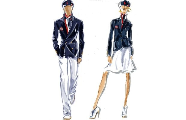 Ralph Lauren Reveals Team USA's Outfits for the Opening Ceremony of the 2012 Summer Olympics
