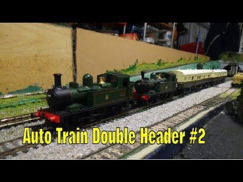 Model Railways - Double Headed Auto Train #2