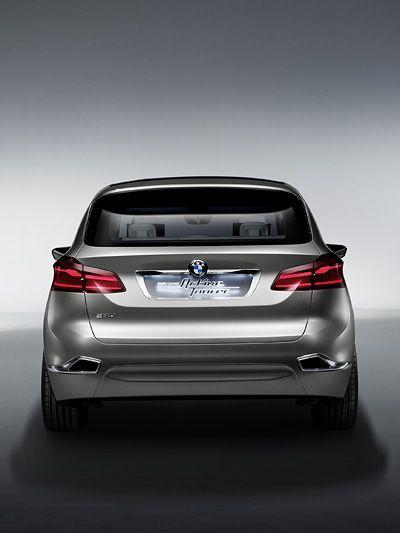 BMW Concept Active Tourer http://www.autorevue.at/aktuell/bmw-concept-active-tourer-dreizylinder-frontantrieb-van-paris-messe-autosalon-news.html