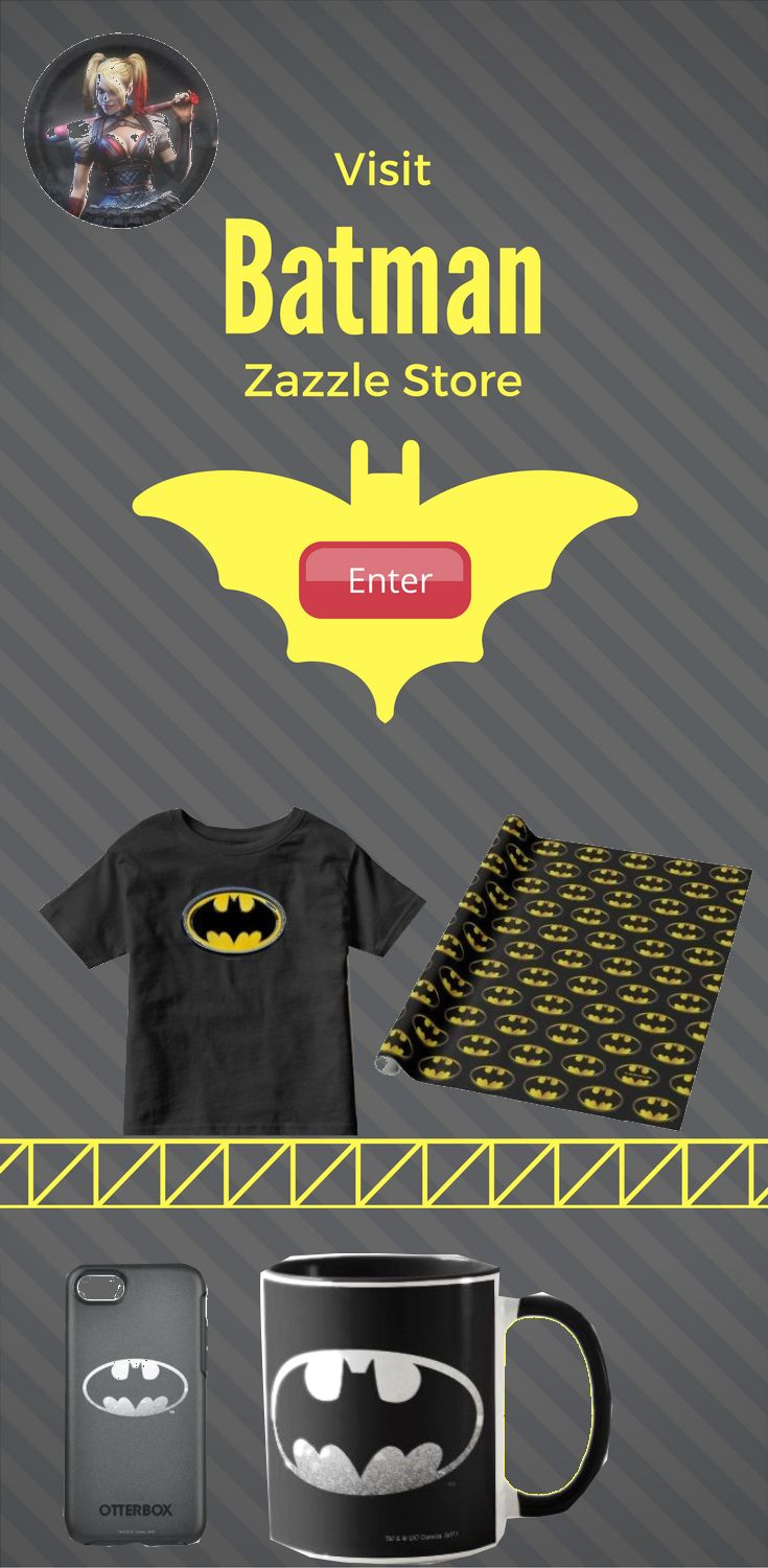 Take a look at Batman Zazzle Store for anything Batman Product. Find the design on product like pillow, t-shirt, keychain, iphone case, Samsung case, cups, wallets and more.