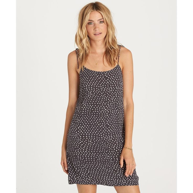 Billabong Night Out Dress | Black and White