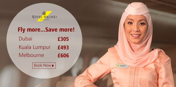 Fly more and Save more with Royal Brunei, Call and speak to one of our consultants on 0208 819 1111.