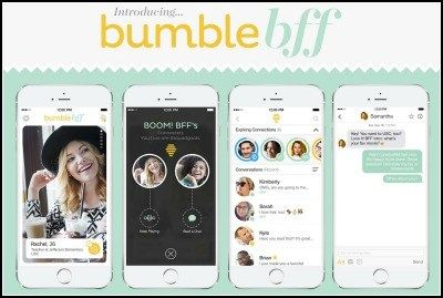 Bumble just rolled out a new app, Bumble BFF. It's not for finding love online. It's to help women find new friends. Brilliant! Learn more...