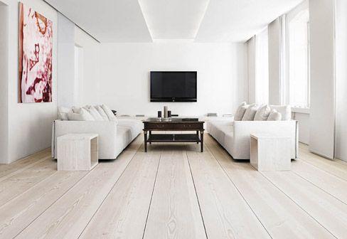 Oak Wide Plank Flooring - Solid Oak Floor by Dinesen | Flooring