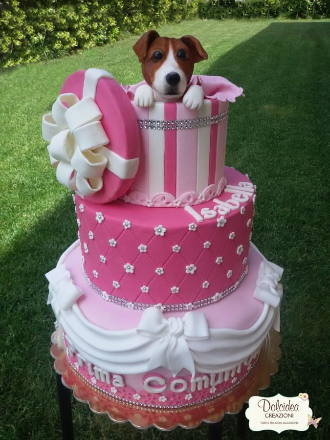 Torta cane Jack Russell - Jack Russel dog cake - Cake by Dolcideacreazioni