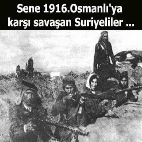 """sonrada suriyeli araplar bizim için savaşmış diyorlar tarih bilmez cahiller..!! """"Suriyeli araplar bizim için değilde Fransızlar için savaştılar doğru"""" Maraş neden """"Kahraman"""" """"Urfa neden """"şanlı"""" Antep neden """"gazi"""""""