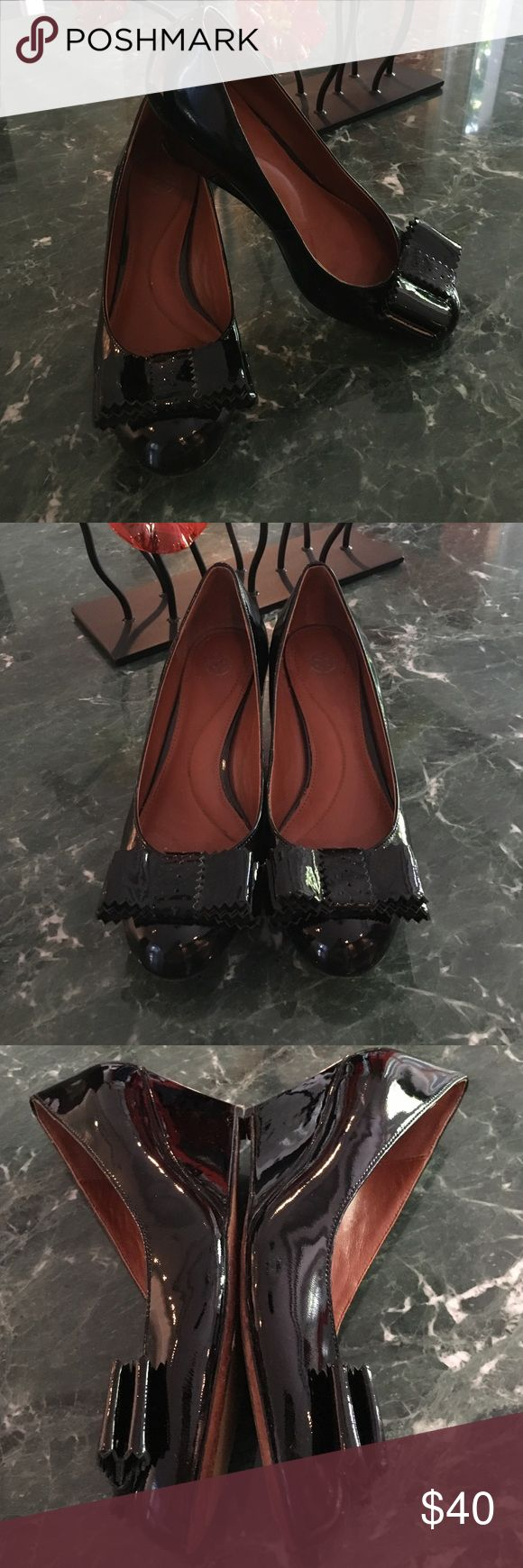 Johnston and Murphy patent leather wedges! Beautiful and nearly new! Worn 3 times for events! Johnston & Murphy Shoes Wedges