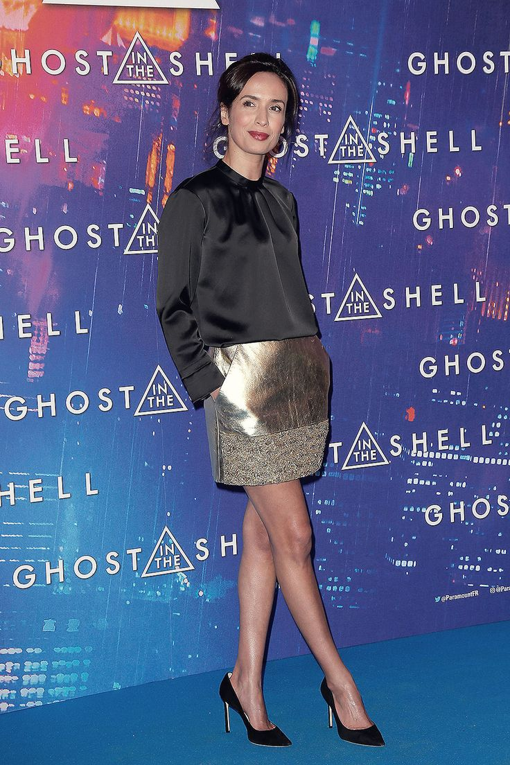 Amelle Chahbi attends Ghost in the Shell Premiere | Leather Girls Blog | Bloglovin'