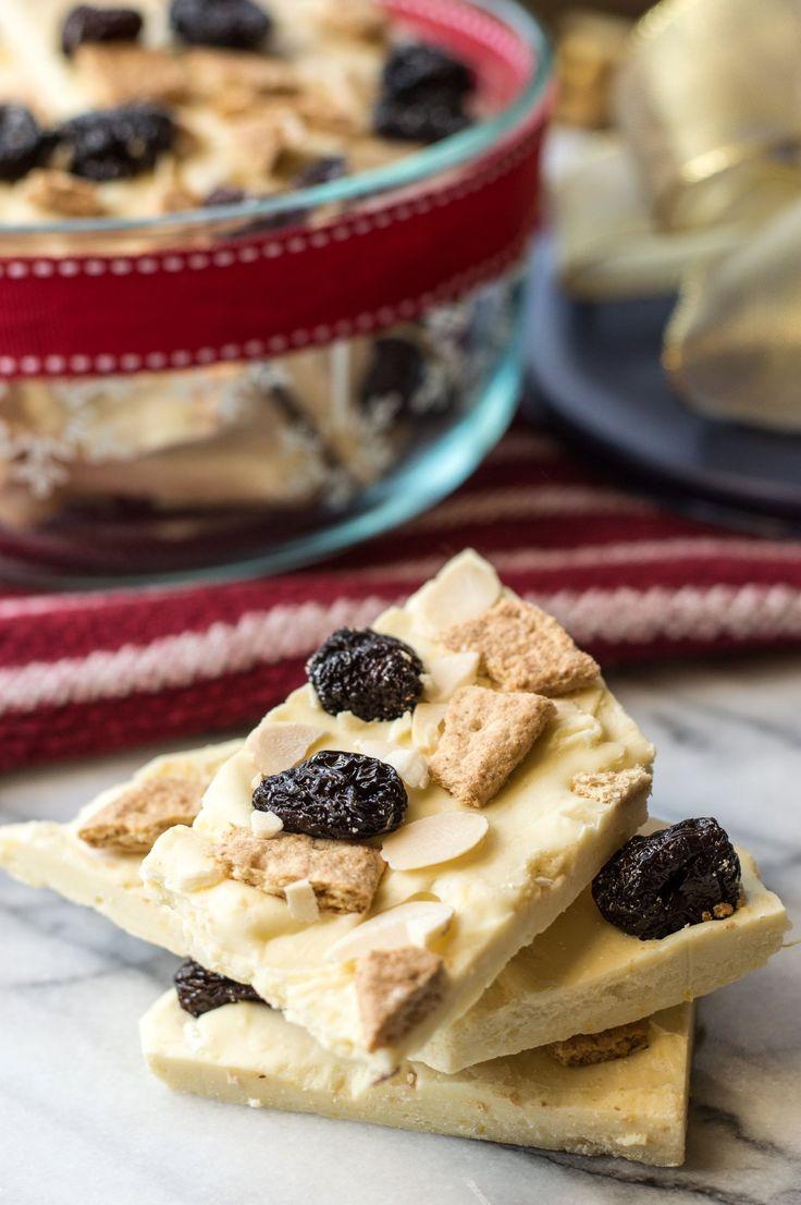 Recipe: White Chocolate Cheesecake Bark
