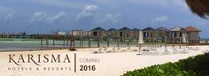Overwater Bungalows in Mexico at El Dorado Maroma  Construction is underway for El Dorado Maroma's NEW 58 suite Overwater Bungalows.  These Bungalows are expected to be completed in 2016 and will feature private infinity pools, plunge pools, and all inclusive amenities.  The pier where the Overwater Rooms will be located will feature a dining option as well as over-water spa services.