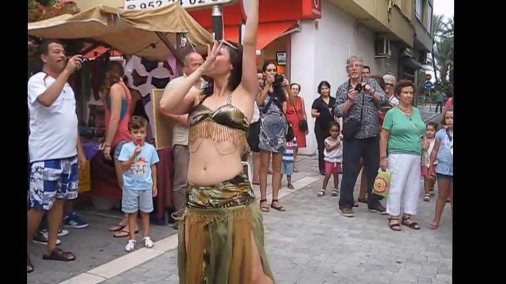 Baile Arabe En Mercado Medieval - Estepona - 2013