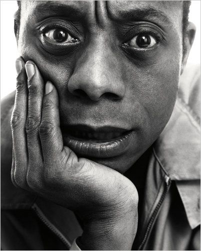 James Baldwin, 1963 by Richard Avedon
