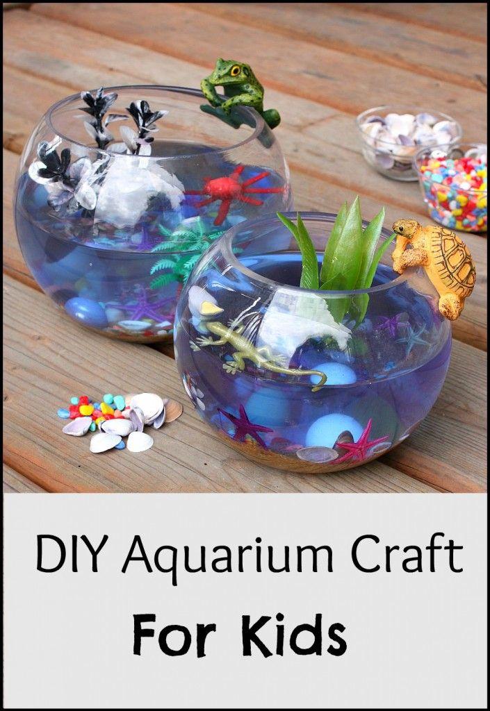 Easy Aquarium Craft for Kids