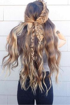 #coiffure #cheveux style #boho